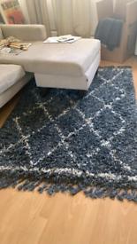 Dunelm shabby rug
