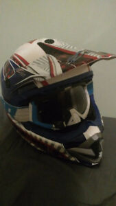 casque Zox style moto cross