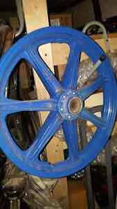 Yamaha RD400 Mag wheels for motorcycle front and rear mags