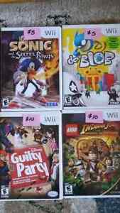DS PS3 Wii games