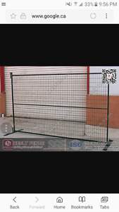Looking for temporary construction fencing