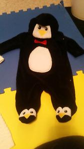 Fleese penguin suit