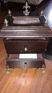 REDUCED -- Clock with 2 secret drawers Kitchener / Waterloo Kitchener Area image 4