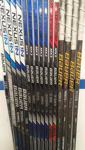 Repaired hockey sticks/sales - Trigger, Super Tacks, 1X, 1N...