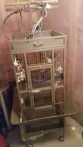 Bird Cage with Accessories Strathcona County Edmonton Area image 1