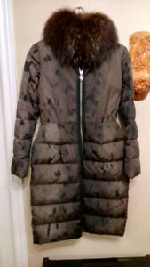 Moncler down woman's jacket, new, size small
