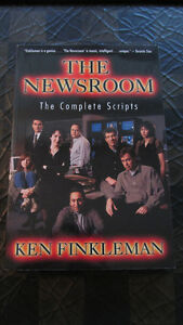 """The Newsroom-The Complete Scripts"" by Ken Finkleman-CBC - $3"