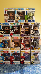 POP! Funko Vinyl Figures BRAND NEW, NEVER OPENED