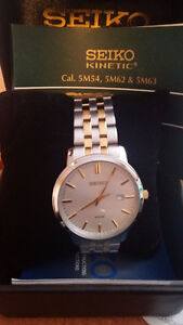 New Seiko Kinetic Watch