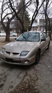 2003 Pontiac Sunfire (not safetied)