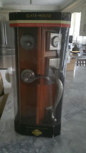 Brand  New Deluxe Front Door Solid Brass Lock System