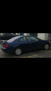 2002 Honda Civic LX Coupe, Automatic. Safety and Etested!