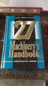 Machinery's Handbook 27