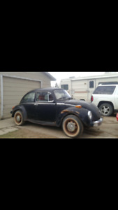 1974 Volkswagen Super Beetle with 200km on brand new engine!!!