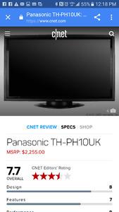 "50"" Panasonic Plasma Flat Screen"