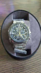 Brand New Citizen Blue Angel AT8020-54L Radio Controlled
