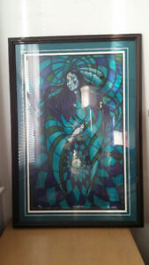 """""""Ojibway Artist Don Chase"""" Titled, Signed, Numbered Print"""