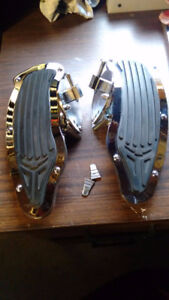 Honda shadow floor boards driver and saddle bags
