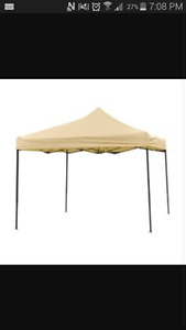 10x10 pop up canopy with side wall