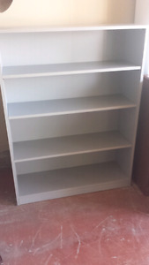 "SHELVING UNIT GREY 36""W X 12""D X 48""H"