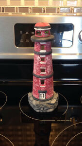11 inch Ceramic Lighthouse