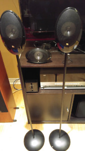 Kef center and surround speakers