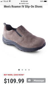 Men's Wind River brand suede shoes
