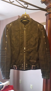 Brand New Leather Victory Arlen Ness Motorcycle Jacket