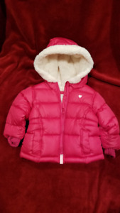 6-12 M girl old Navy Winter Jacket