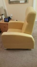 Astra 2 electric rise and recline arm chair. Like New