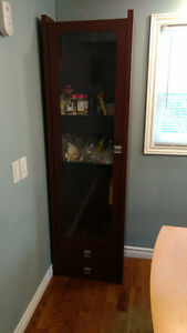 Tall China Display Cabinet 50.00 OBO