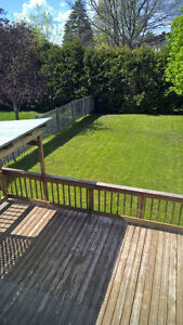 Orleans (des Prairies) - 3 bedroom home, July 1st availability