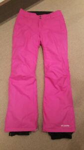 Women Columbia insulated ski and snowboard pants Medium