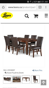 Looking for table and chairs