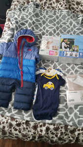 The North Face baby Goose DOWN snow suit and others