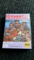 Romance of the 3 kings 2 *Mint Compleate