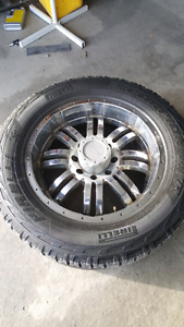 20in MB Motorsports 8 bolt  Wheels and Tires for sale