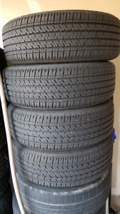 Bridgestone 205/65R16 95H tire with steel rim was fit 08 Sienna