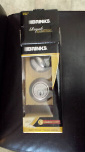 Lock, exterior locking-BRINKS