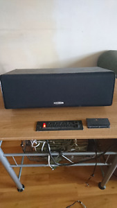 """Polk Audio Center Channel Speaker with 5.25"""" Drivers"""