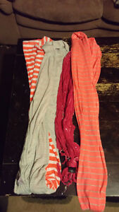 3 girls scarves