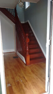 Four bedroom upstairs of house rental.  April 1st
