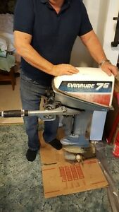 FOR SALE - 7.5 h.p. Evenrude outboard motor $600.00