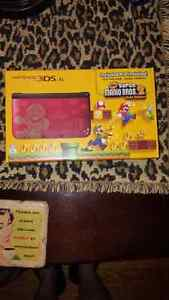 Limited Edition Mario Nintendo 3ds XL and games