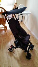 Mothercare XSS Stroller - Leopard pushchair The Worlds Smallest Folding Stroller