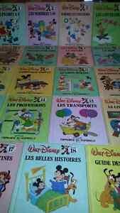 Collection vintage complète «J'apprends en m'amusant» de Disney