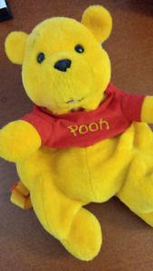 Disney Plush Stuffed Animal Winnie the Pooh Back Pack 6 & Under