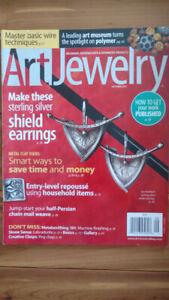 Art jewelry magazine September 2011.