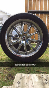 18 Inch Enkei Rims (Need Gone)