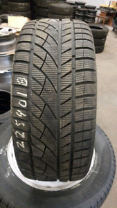 A set of 4 snow  tires. 225/40/18